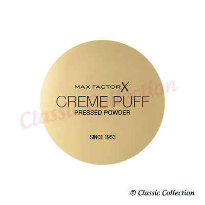 Max Factor Creme Puff Pressed Compact Powder 81 Truly Fair - 21g *NEW & SEALED*