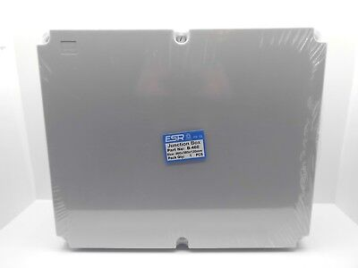 ESR ENCLOSURE JUNCTION BOX ADAPTABLE PVC PLASTIC IP56 WATERPROOF 460x380x120mm