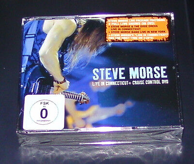 Steve Morse Live In Connecticut + Cruise Control Dvd + Doble Cd