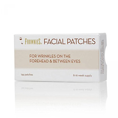 Frownies Forehead & Between Eyes 144 Facial Patches- Natural Wrinkle Reducer
