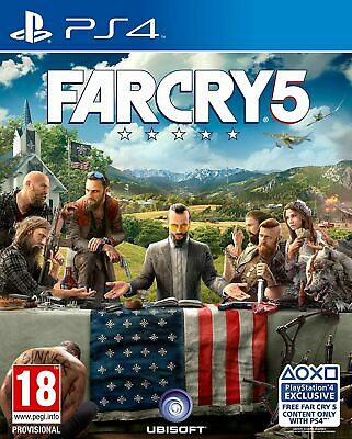 Far Cry 5 (PS4) Brand New & Sealed UK PAL Quick Dispatch Free UK Shipping