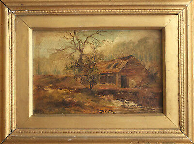 A Good c19th Landscape Oil Painting, Gilt Frame Attrib, LEWIS G. FRY R.A. 1893