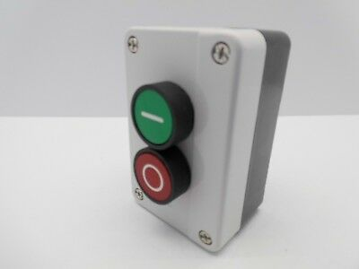 Sal-B213 2 Push Button Start Stop Station Remote Starter Control Green Red