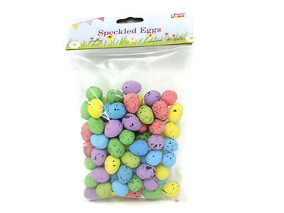 80 Small Speckled Easter Eggs Children's Easter Craft Hunt Party Decoration