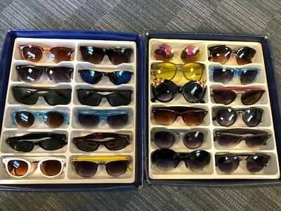 Job Lot 24 pairs of assorted sunglasses - Car Boot - Resale - Wholesale - REF056