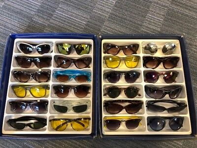Job Lot 24 pairs of assorted sunglasses - Car Boot - Resale - Wholesale - REF057