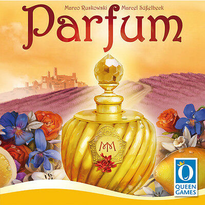 PARFUM Family Board Game by Queen Games Brand New and Sealed