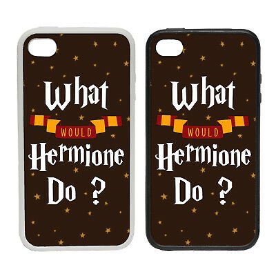 What Would Hermione Do? - Rubber and Plastic Phone Cover Case #1