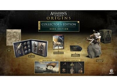 Assassins Creed: Origins - Gods Collectors Edition Ps4 PlayStation  - IN STOCK!