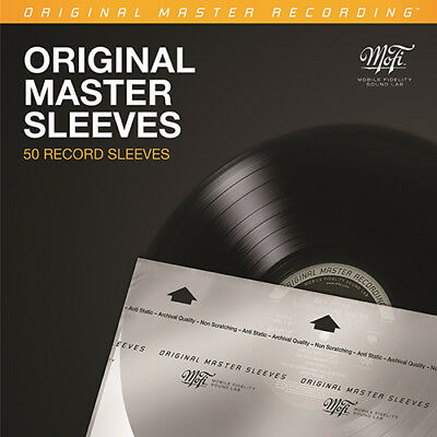 Mobile Fidelity Sound Lab Original Master Record Inner Sleeves (50-Pack)