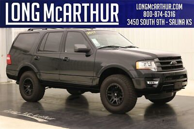 Lifted Ford Expedition >> 2017 Ford Expedition 4wd Limited 4x4 Second Row Buckets