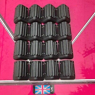 16 x large heavy duty plastic corners 85mm speakers / case / box