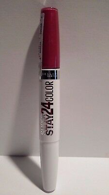 Rouge à Lèvres Superstay 24 Color 195 Framboise Infinie Gemey Maybelline