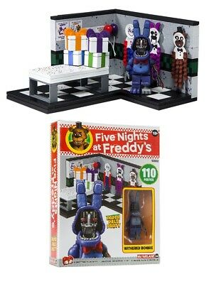 Five Nights at Freddys Paper Pals Party Construction Set McFarlane FNAF IN STOCK