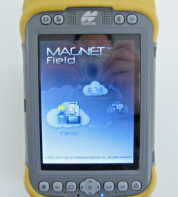 Topcon Tesla Tablet Data Collector With Magnetfield For Surveying Gps/ts 1M Wara