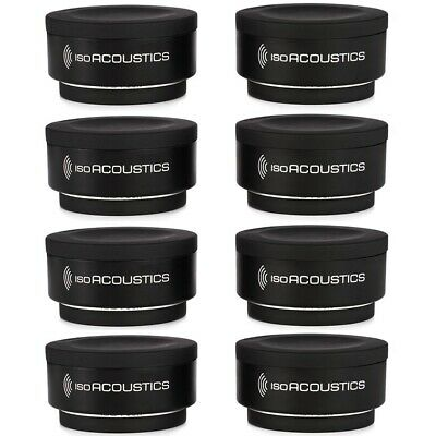 (8-Pack) IsoAcoustics Iso-Puck Studio Monitors Speakers Amps Cab Isolation Puck