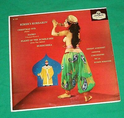 1957 Rimsky Korsakov Bumble Bee Tzar Saltan Belly Dancer Lp London Record Album