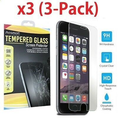 Premium Screen Protector Tempered Glass Film For iPhone 6 6 7 Plus