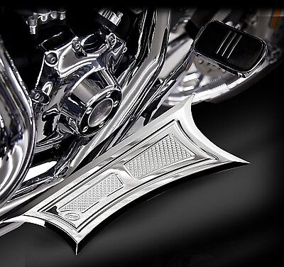 RC Components- VELOCITY Chrome Floorboard Set- HD Touring