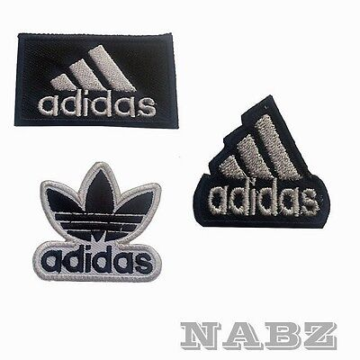Adidas Brand Logo iron sew on Patch Badge