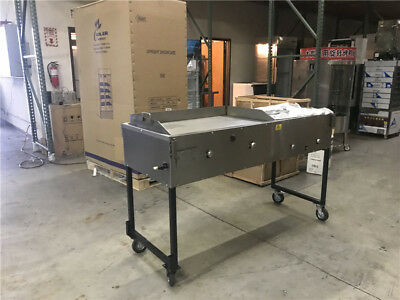 "65"" Taco & Hot dog Griddle Carts  / Plancha para Taco's & Hot Dogs Stainless"