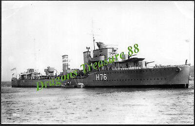 H.M.S. FURY (H76), Photo, Royal Navy F-class Destroyer,1934 - 1944