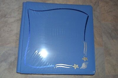 Creative Memories Album - Original 12X12 with pages - Light blue beach theme
