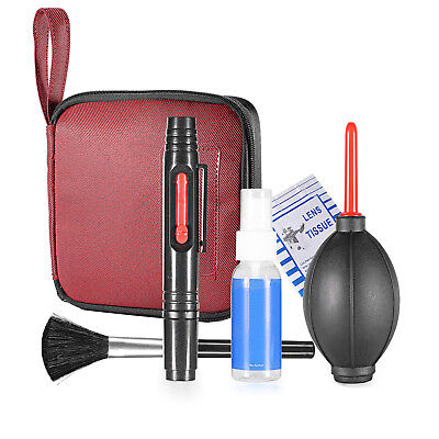 Neewer Pro 6-IN-1 Cleaning Kit with Lens Cleaning Pen Lens Brush and Air Blower