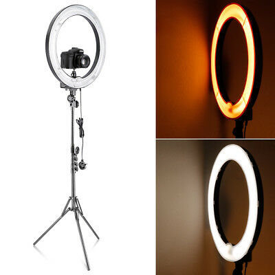 Neewer Video 18-inch 75W Studio Ring Fluorescent Continuous Light Lighting Kit