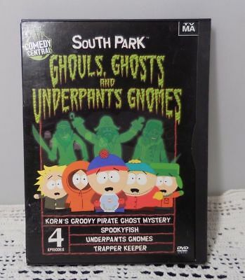 Comedy Central South Park Ghouls Ghosts and Underpants Gnomes (DVD, 2002)