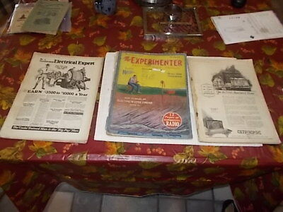 LOT of (3) VINTAGE  Electronics Products Catalog,1924 & 1926 . USA