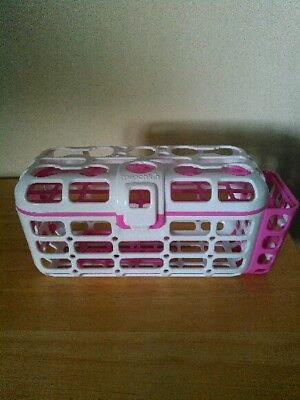Munchkin deluxe dishwasher basket for bottle nipples, pacifiers, spoons toys etc