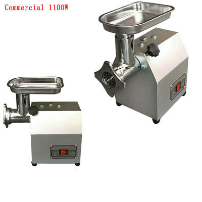 1100W Electric Meat Grinder Mincer Sausage Maker Commercial Butchers 160kgh