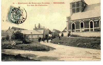 (S-88741) France - 80 - Suzanne Cpa