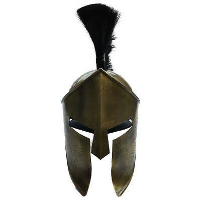 Unidecor 300 Spartan Leonidas Armor Medieval Helmet Antique Finish With Liner
