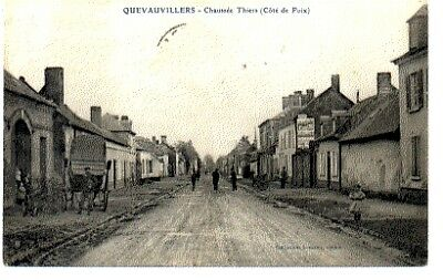 (S-88803) France - 80 - Quevauvillers Cpa