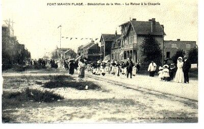 (S-88824) FRANCE - 80 - FORT MAHON PLAGE CPA      MIOT-LEBOEUF ed.