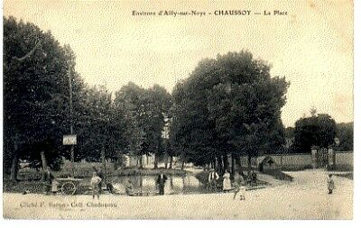 (S-88910) France - 80 - Chaussoy Epagny Cpa
