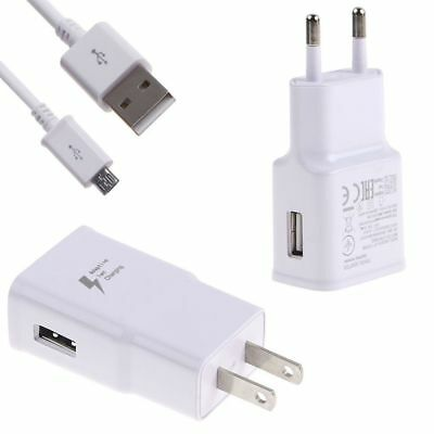 2A USB Wall Charger Universal Home Travel Power Adapter Fast Charging EU/US Plug