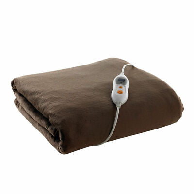 11 Heat settings  Heller Electric Heated Throw Rug
