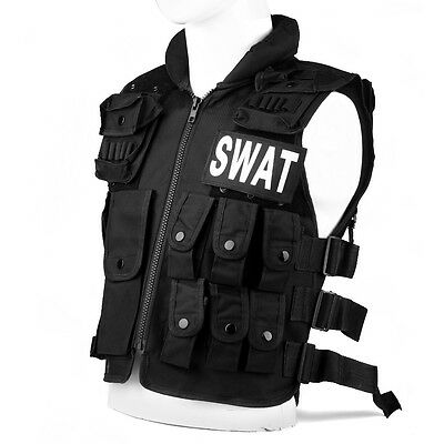 Assault Airsoft Molle Combat Tactical SWAT Vest Military Paintball Wargame
