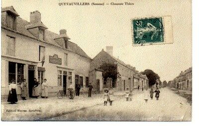 (S-88779) France - 80 - Quevauvillers Cpa