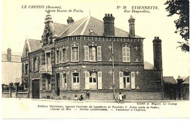 (S-88891) FRANCE - 80 - LE CROTOY CPA      MALEZIEUX ed.