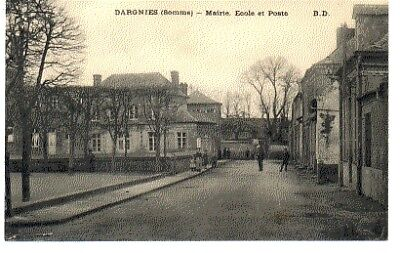 (S-88943) FRANCE - 80 - DARGNIES CPA      B.D. ed.