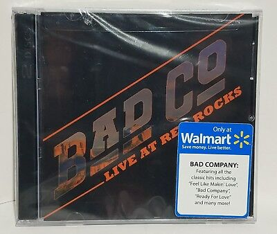 BAD COMPANY Live At Red Rocks CD+DVD 2017 New WALMART EXCLUSIVE Paul Rodgers