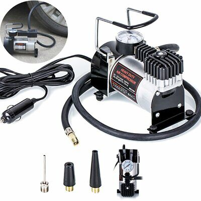 Heavy Duty 12v Car Air Compressor 100PSI Tyre Deflator Portable Inflator Pump