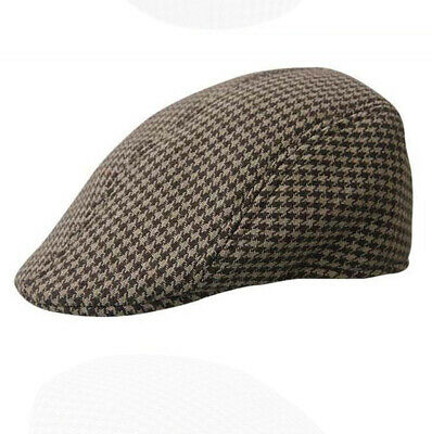 Boys Girls Kids Flat Cap Tweed Country Peaked Hat Newsboy Baker Boy Hats New