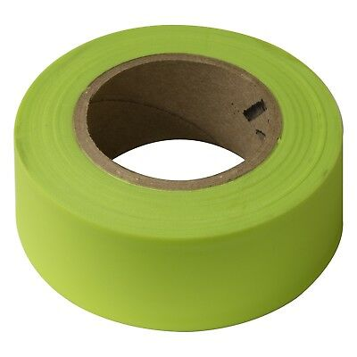 Irwin FLAGGING TAPE 45mx30mm High Visibility, Weatherproof FLOURESCENT LIME