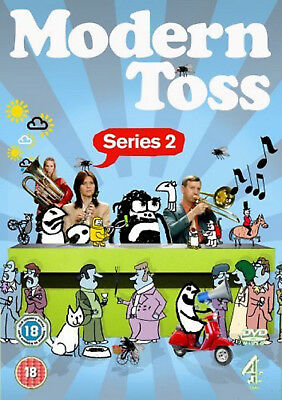 MODERN TOSS COMPLETE SERIES 2 DVD Comedy UK Release Brand New Sealed R2