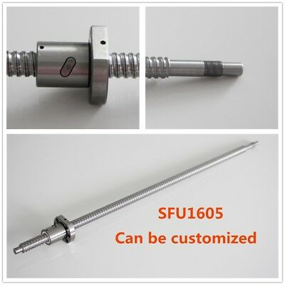 SFU1605 RM1605 Ballscrew w/ Nut L300 – 1500mm End Machined CNC Ball Screw